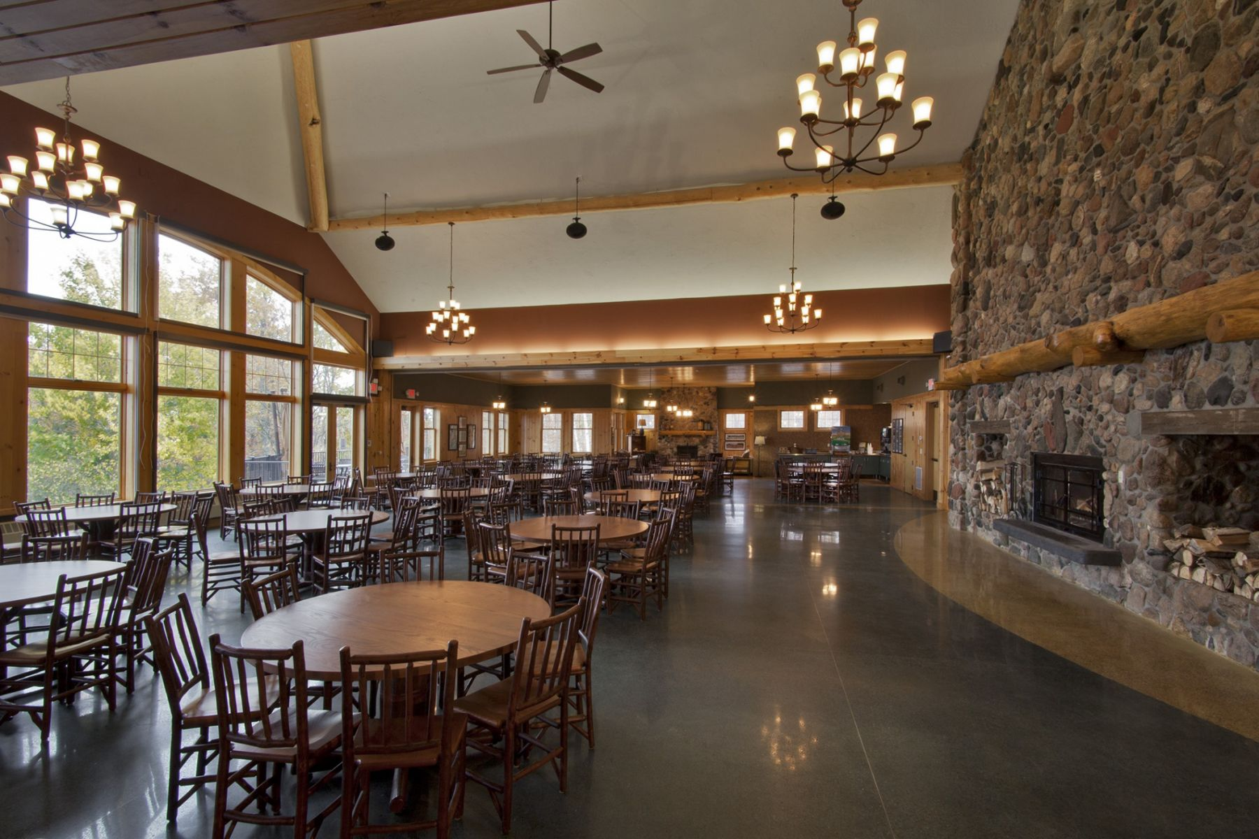 Trout Lake Camps–Timber Ridge Dining Hall